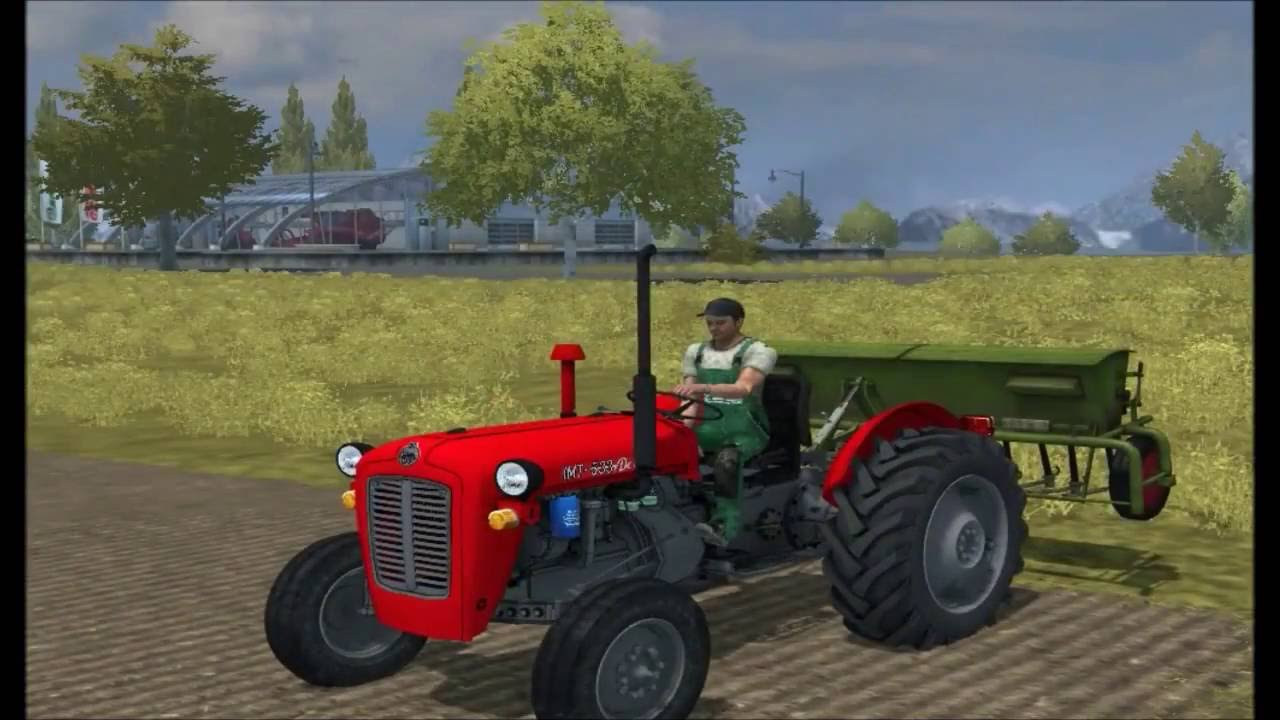 Farming Simulator 13 - IMT 533 mod