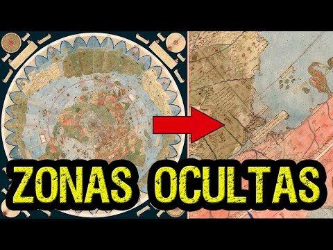 Descubren un mapa antiguo que revela zonas OCULTAS de la Tierra