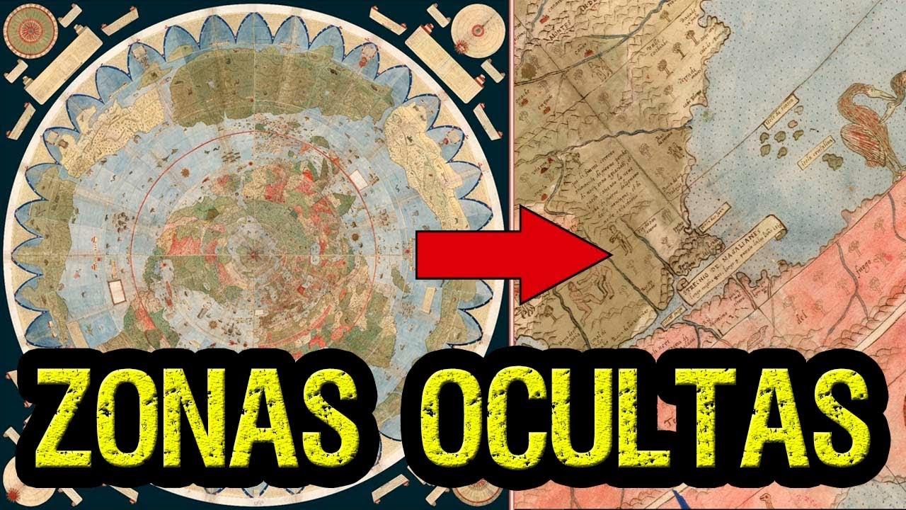 Descubren un mapa antiguo que revela zonas OCULTAS de la