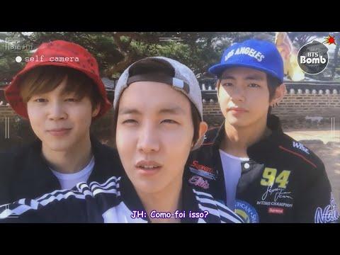 [BTS in NAVER STAR CAST] BOMB: Viagem para Namhansanseong