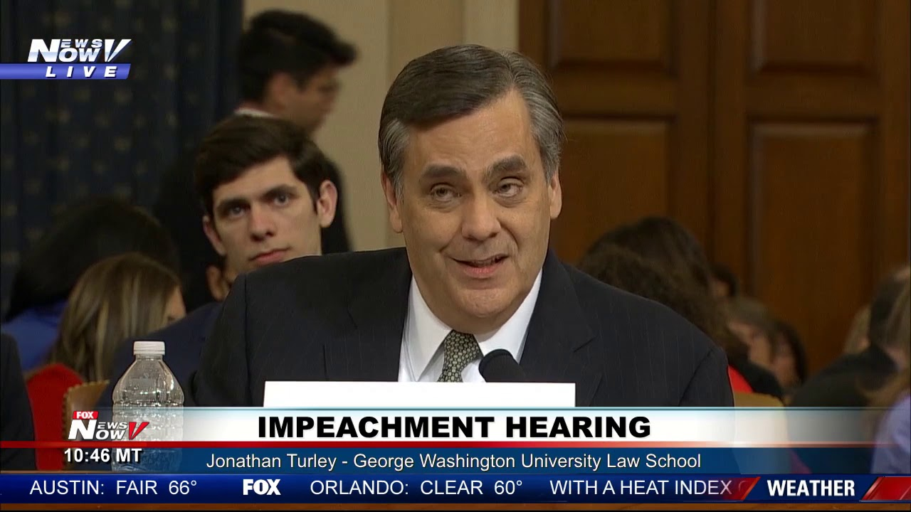 Jonathan Turley: Who is the lone GOP impeachment witness (and ...