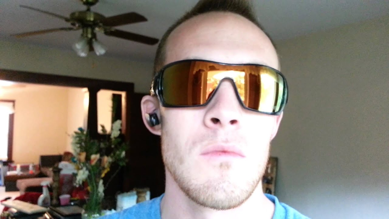 Oakley Mainlink Prizm >> Custom Oakley Offshoots - YouTube