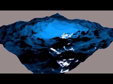 how to make waves blender