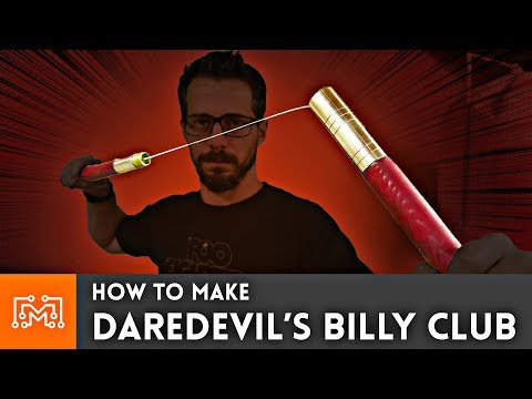 How to Make Daredevil's Billy Club