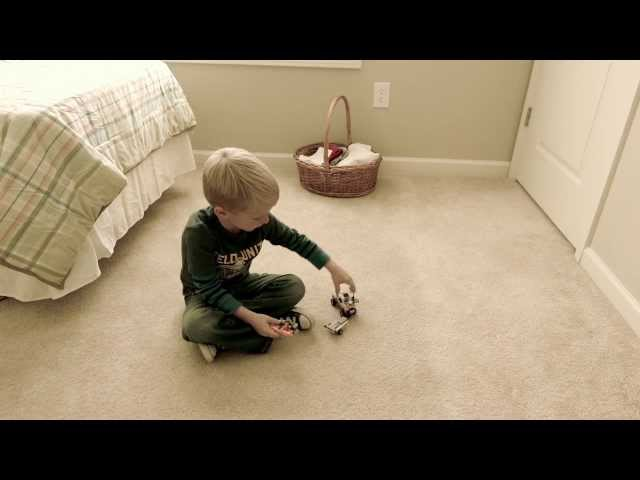 Poltergeist Ghost Caught on Tape. Carson Talking to a Ghost