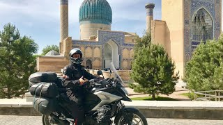 Silk Road On A Motorcycle    (Part 8, Uzbekistan), Usbekistan, Мотопутешествие, Узбекистан, NC750X