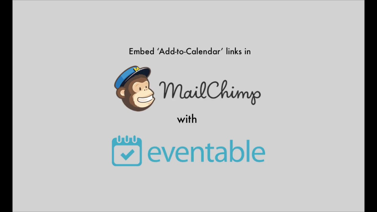 Add To Calendar how to include add to calendar links in your mailchimp emails