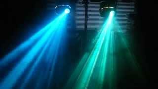 2x NJD Chaos 1 100W EFP Lighting Effects / Disco Lights - For Sale On Ebay Read Description