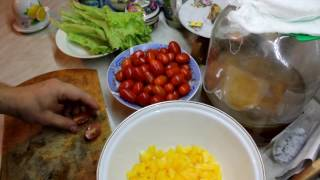 Готовим летний салат зимой