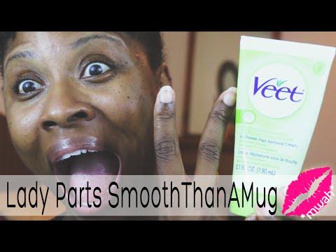 Lady Parts Smooththanamug! • Veet In Shower Hair Removal Cream • Glamazini