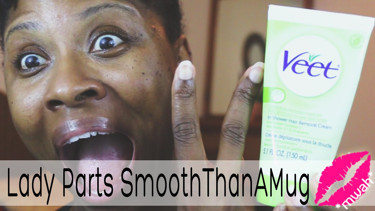 Lady Parts Smooththanamug Veet In Shower Hair Removal Cream