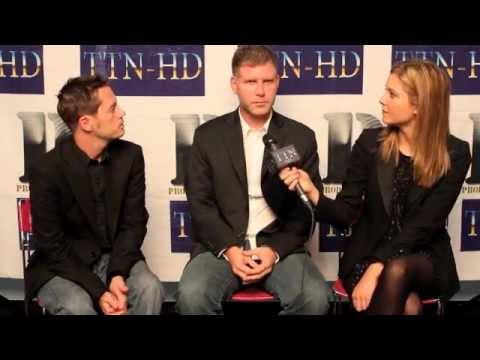 """PLTV: CHAD MAKER & DAVID MILLER, EXECUTIVE PRODUCER & PRODUCER of TIFF FILM """"ISSUES"""" 09/11"""