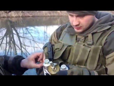 Ukraine War - Grenade Fishing By Russian Armed Forces Near Donetsk Ukraine