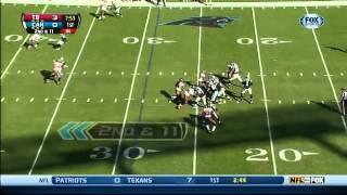 Zapętlaj Cam Newton's 56-yard run against the Bucs | SportSimplified
