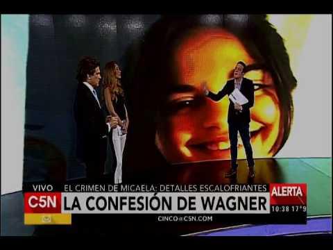 C5N - Causa Micaela García: la confesión de Wagner