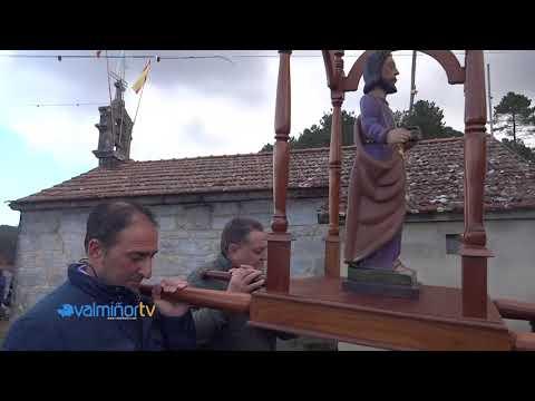 VALMIÑORTV - Procesión De San Andrés En Mañufe