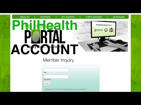 PAANO MAG REGISTER/LOGIN (MEMBER INQUIRY)SA PHILHEALTH ONLINE