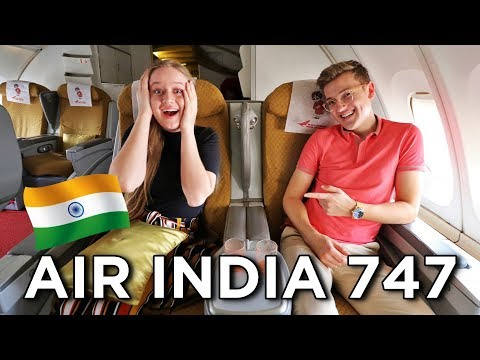 Air India 747-400 Business Class - Surprise Upgrade!