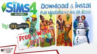 Cara Download & Instal The Sims 4 : Seasons (PC) Full DLC | ovagames.com | Free & Work 100% !!!