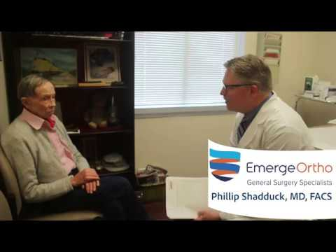 General Surgeon Dr  Phillip Shadduck Raleigh, NC - EmergeOrtho