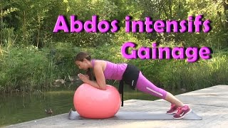Programme de gainage: abdos intensifs!
