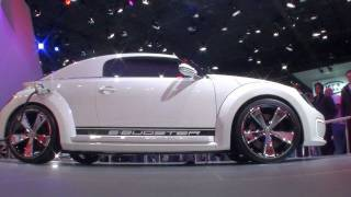 Volkswagen E-Bugster Concept 2012 Videos