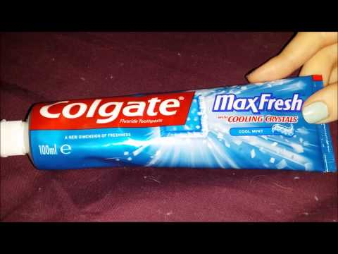 Colgate Max Fresh Toothpaste Review FULL HD