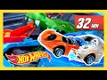 Epic T-Rex carros mudança de cor da Hot Wheels City! | Hot Weels City | Hot Wheels Português