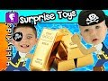 GOLD + DIAMOND Hunt! Chocolate Pirate POOP Candy Taste Test by HobbyKidsTV