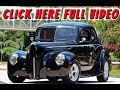1940 Ford 5-W Coupe // LT1 Swap // Street Rod