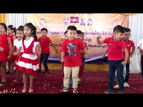 Kid Dance Hokey Pokey Song Close Their Course/Kid Dancing/General Action