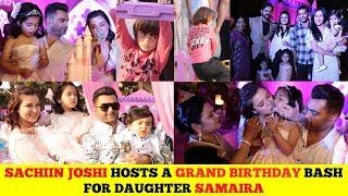 Sachiin Joshi's Daughter Grand Birthday Bash | Bollywood Star Kids Party