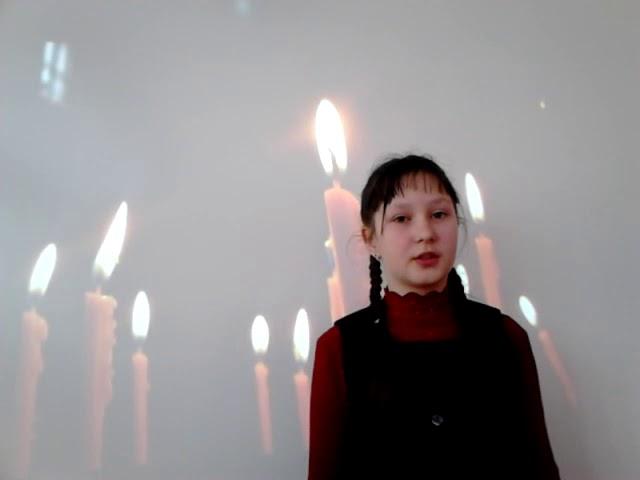 Изображение предпросмотра прочтения – ВалерияШавлакова читает произведение «Девушка пела в церковном хоре» А.А.Блока
