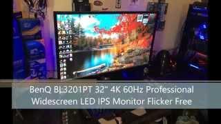 benq bl3201pt 32 4k 3840x2160 uhd 60hz cad professional ips monitor quick unboxing part 1
