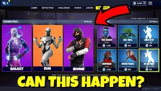 Can EXCLUSIVE SKINS come to Fortnite Item Shop?