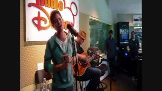 Drew Seeley performing NEW CLASSIC at Radio Disney