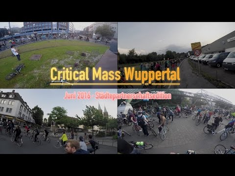 Critical Mass Wuppertal - Juni 2016
