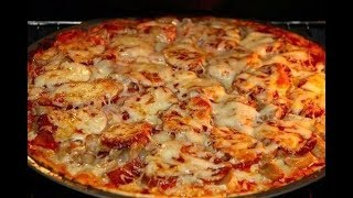 Домашняя пицца на дрожжевом тесте Супер рецепт