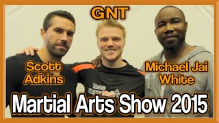 Martial Arts Show 2015 Highlights | Meeting MJ White, Superfoot & Phythian