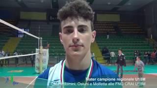 21-05-2017: #fipavpuglia - Finale regionale U18M, parola ai protagonisti