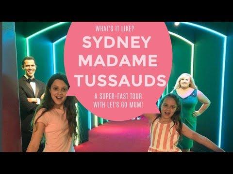 Sydney Madame Tussauds - A Super-fast Tour!