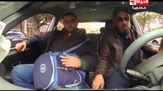 بالفيديو.. الشناوي يتقمص دور «سواق التاكسي» وينصب على الركاب في «العداد»