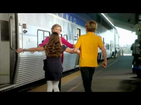 """Grandma Visits Kids On San Joaquin Train"" by @Amtrak_CA"