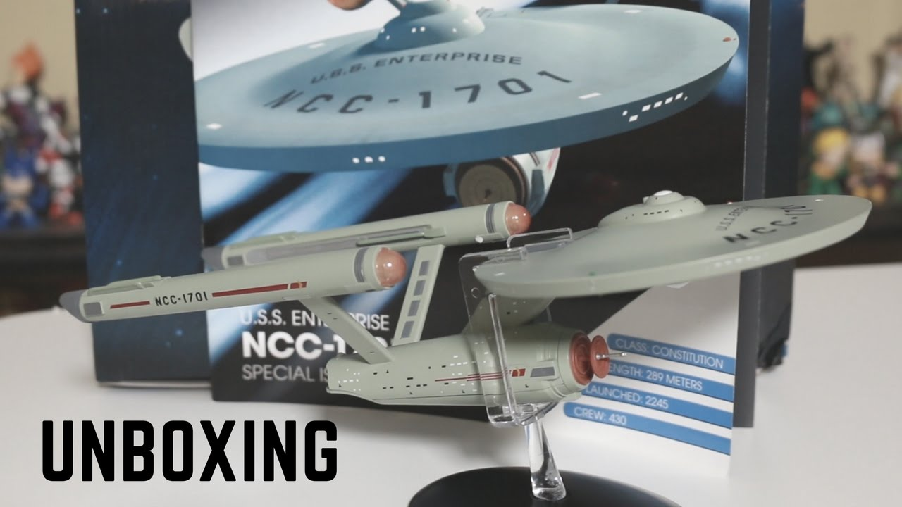 EAGLEMOSS USS Enterprise NCC 1701-A Star Trek Enterprise