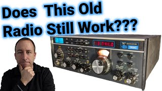 Classic Ham Radio: Does this 40 Year old Drake TR7 Still Work???