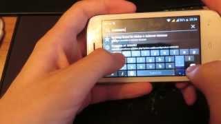 Обзор телефона Fly iq445