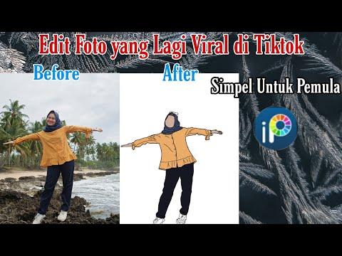 Cara Edit Foto Viral Di Tiktok Simpel Banget | Tutorial | TIKTOK Tutorial