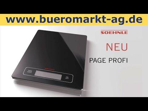 Soehnle Kuchenwaage Page Profi 67080 Digital Bis 15kg Teilung 1g