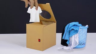 How to Make a Mini Washing Machine at Home