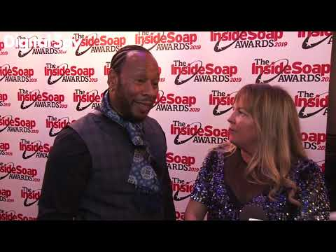 EastEnders' Lorraine Stanley and Roger Griffiths tease Christmas episodes | Inside Soap Awards 2019